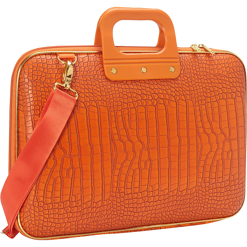 Bombata Gold Cocco 15 inch Laptop Case Orange Bombata Non Wheeled Business Cases