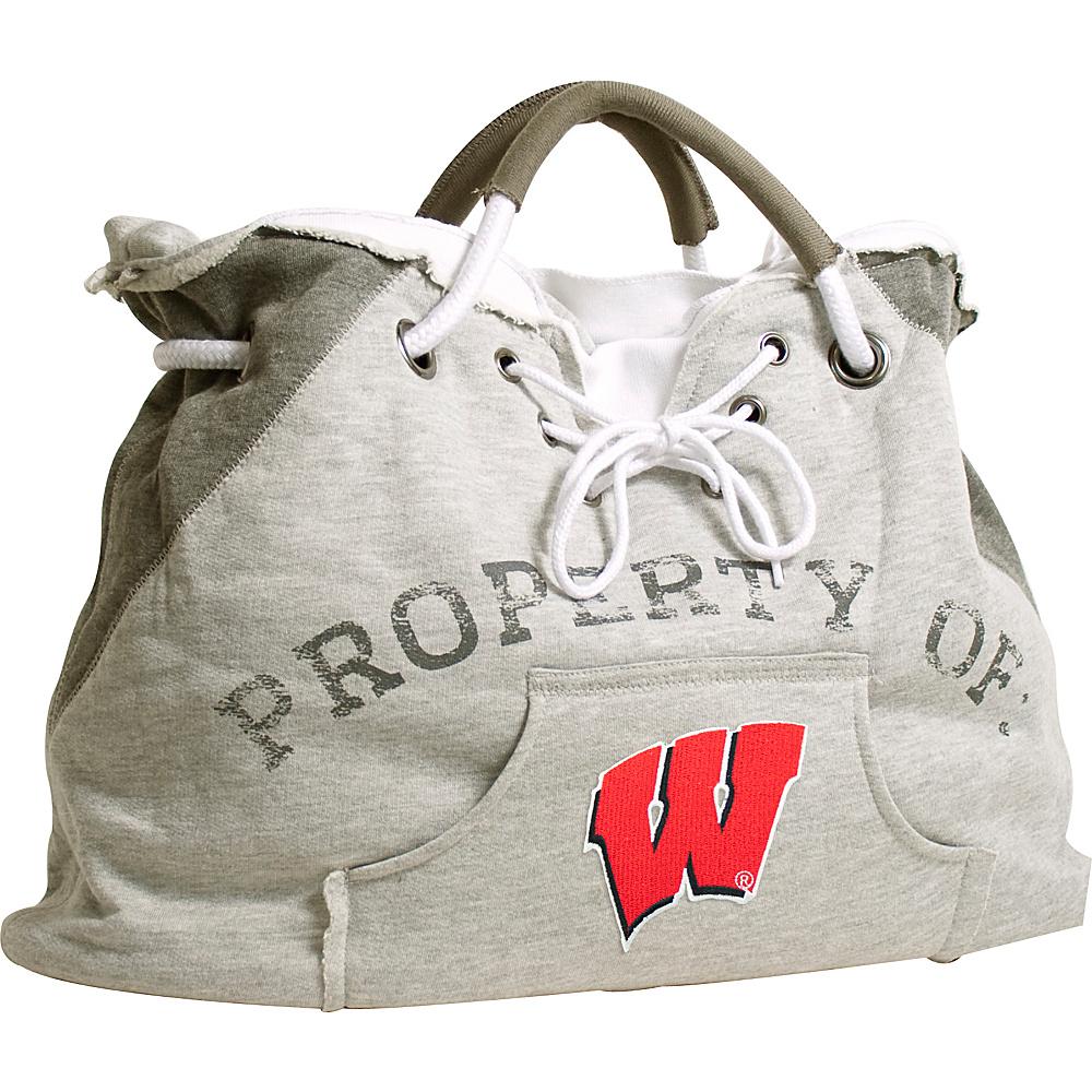 Littlearth Hoodie Tote - Big Ten Teams Wisconsin, U of - Littlearth Fabric Handbags - Handbags, Fabric Handbags