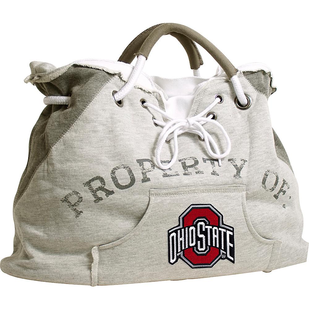 Littlearth Hoodie Tote - Big Ten Teams Ohio State University - Littlearth Fabric Handbags - Handbags, Fabric Handbags