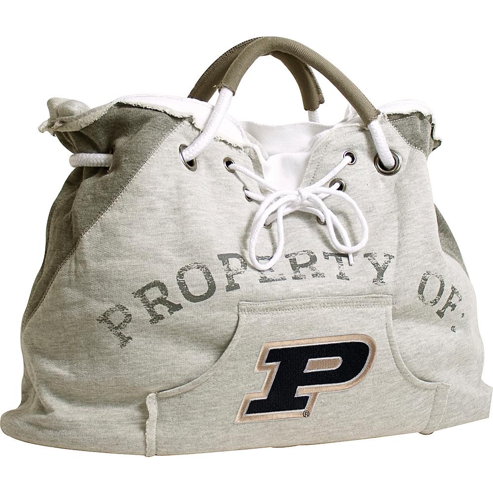 Littlearth Hoodie Tote - Big Ten Teams Purdue University - Littlearth Fabric Handbags - Handbags, Fabric Handbags