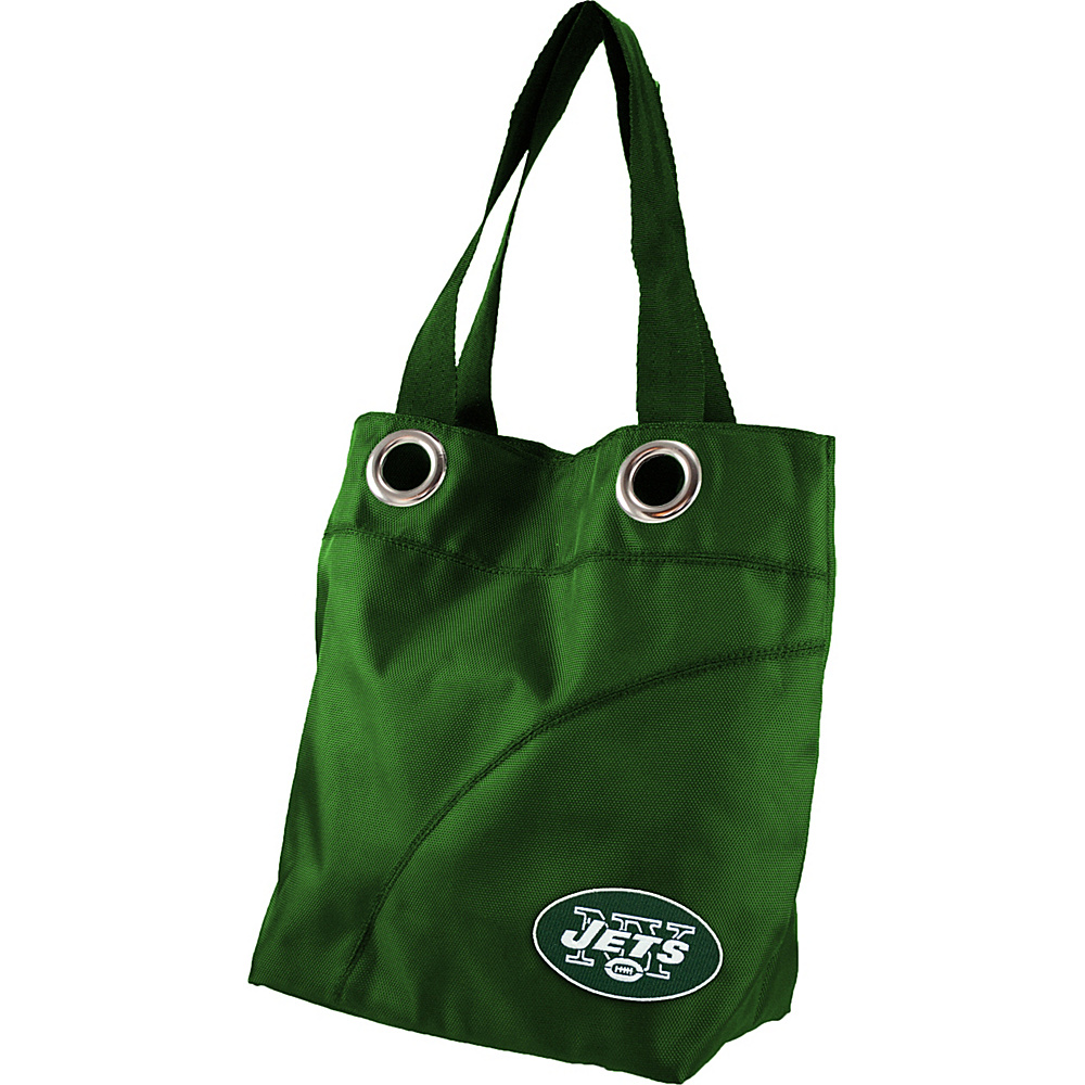 Littlearth Color Sheen Tote - NFL Teams New York Jets - Littlearth Fabric Handbags - Handbags, Fabric Handbags