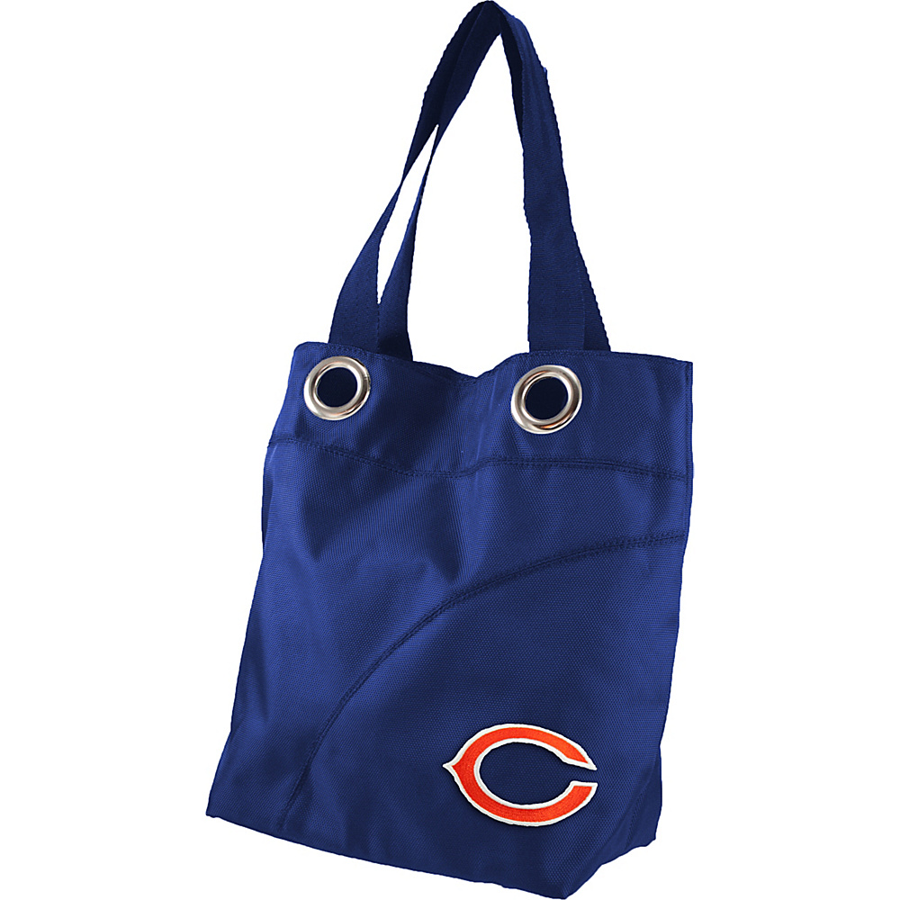 Littlearth Color Sheen Tote - NFL Teams Chicago Bears - Littlearth Fabric Handbags - Handbags, Fabric Handbags