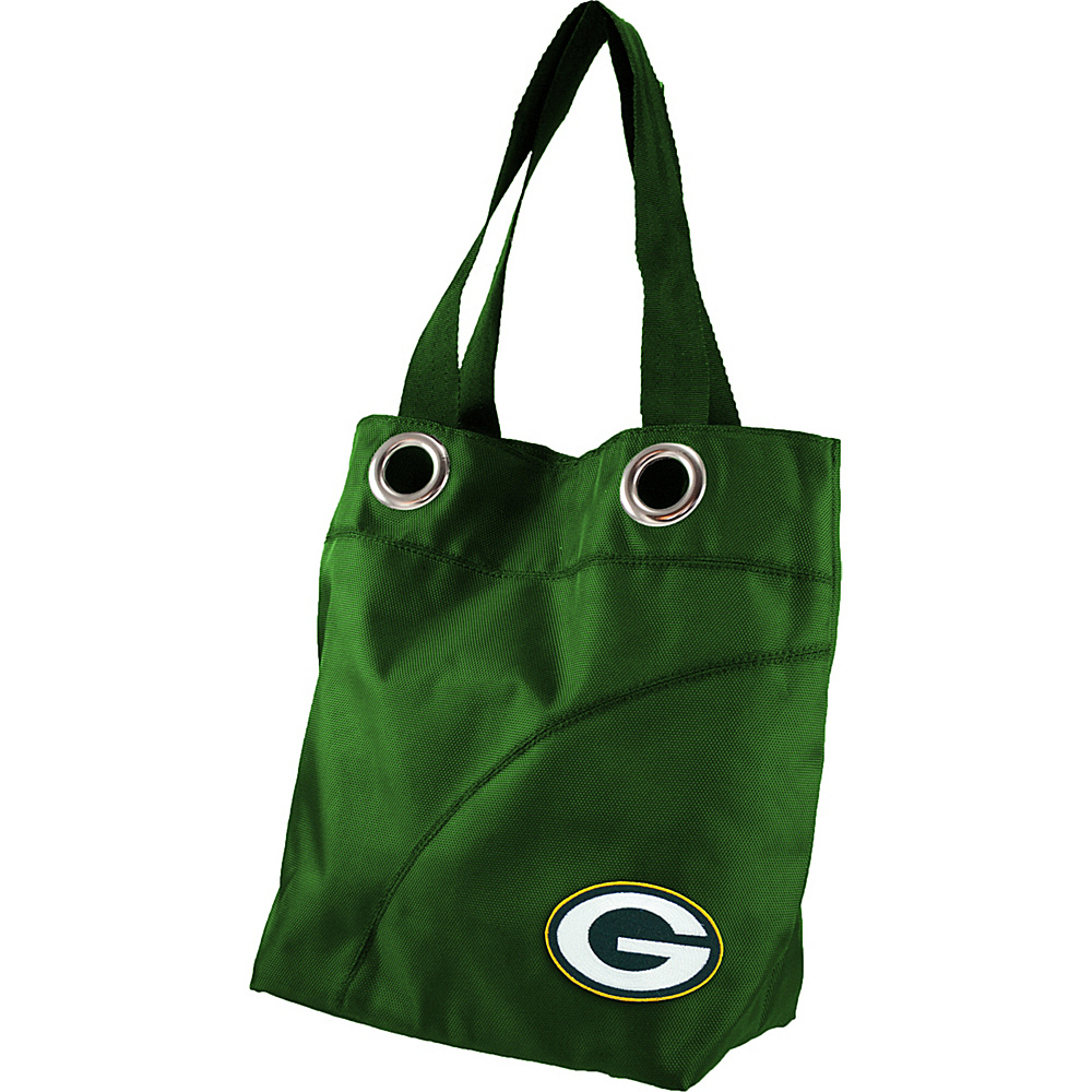 Littlearth Color Sheen Tote - NFL Teams Green Bay Packers - Littlearth Fabric Handbags - Handbags, Fabric Handbags