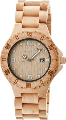 Earth Wood Raywood Watch Khaki/Tan - Earth Wood Watches