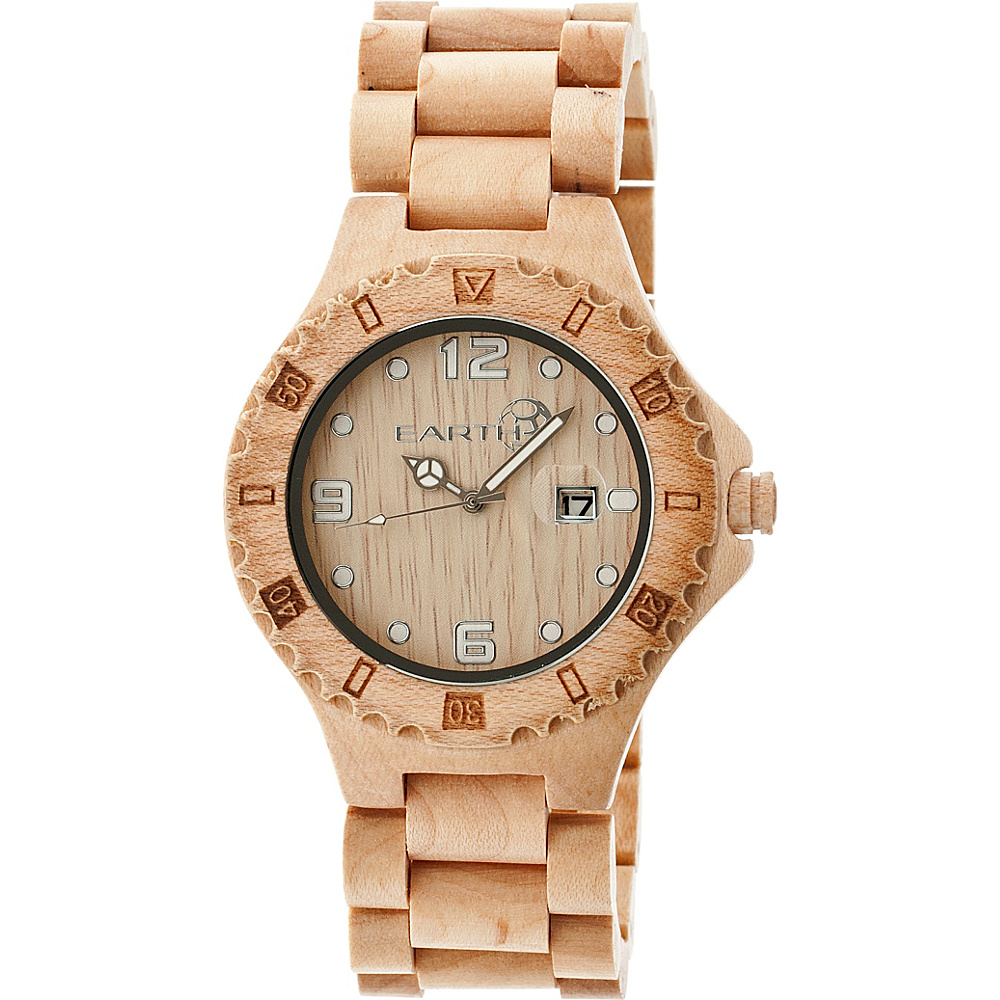 Earth Wood Raywood Watch Khaki Tan Earth Wood Watches