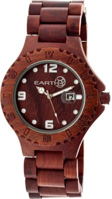 Earth Wood Raywood Watch Red Rosewood - Earth Wood Watches