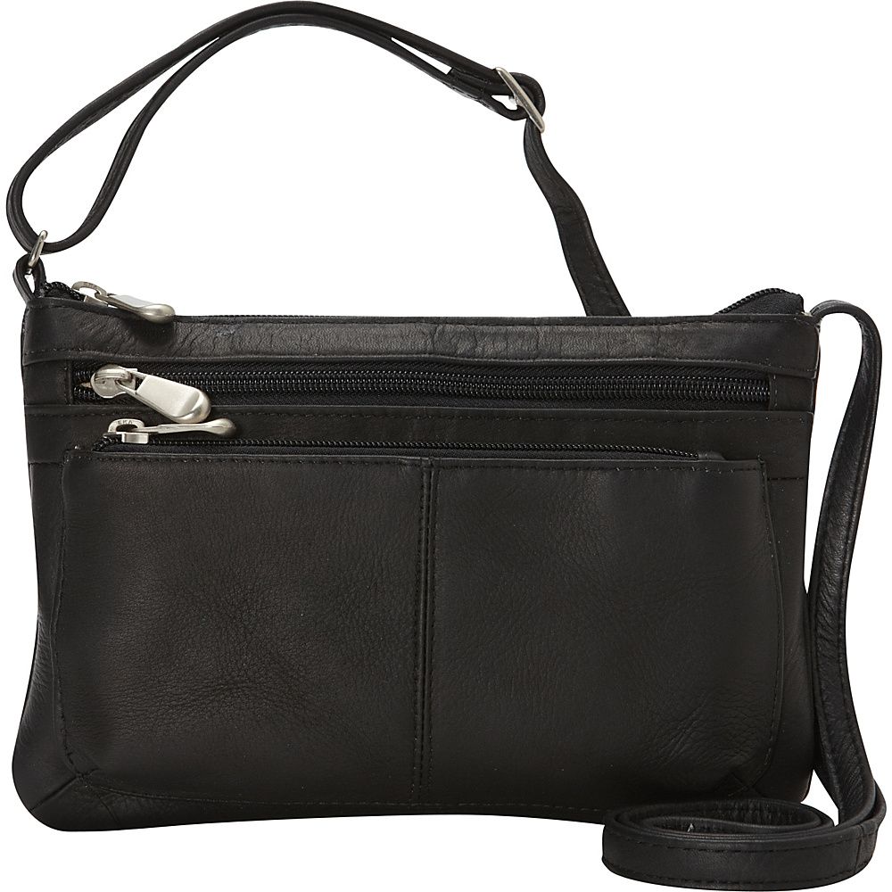 Le Donne Leather Waverly Crossbody Black - Le Donne Leather Leather Handbags - Handbags, Leather Handbags