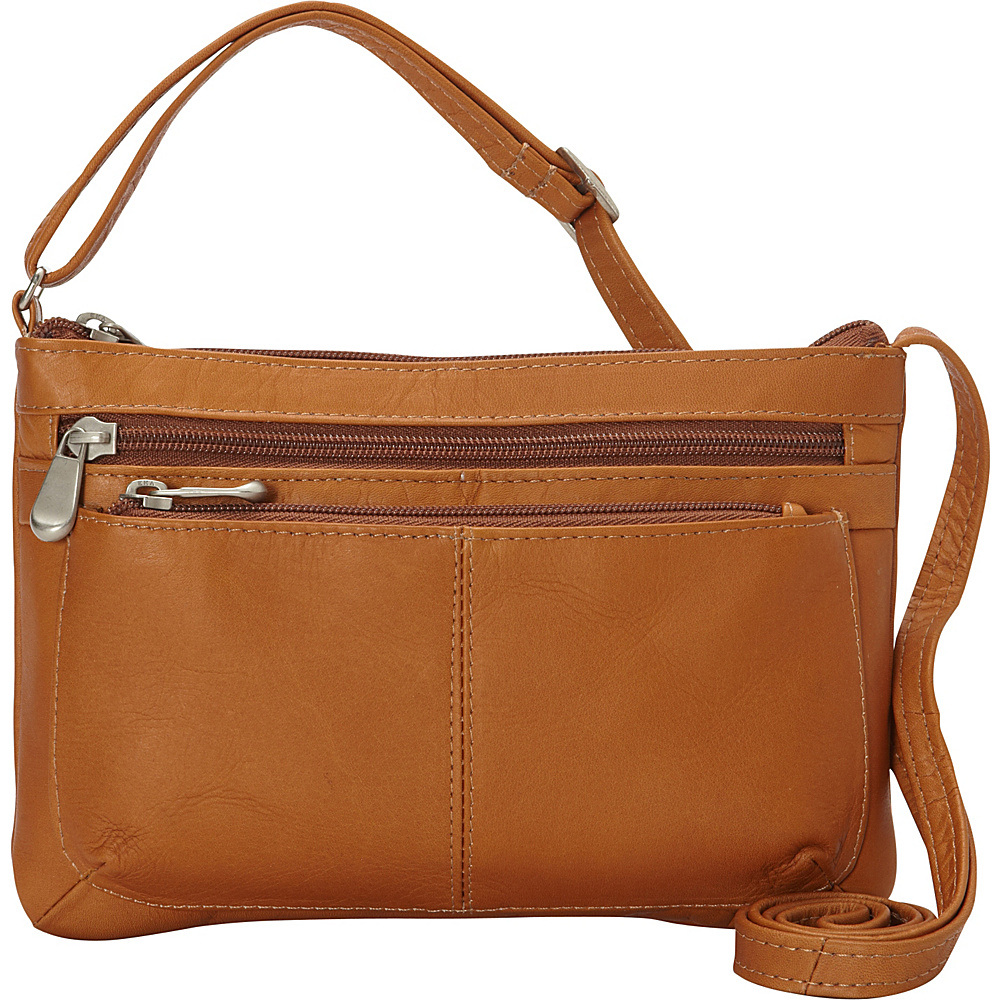 Le Donne Leather Waverly Crossbody Tan - Le Donne Leather Leather Handbags - Handbags, Leather Handbags