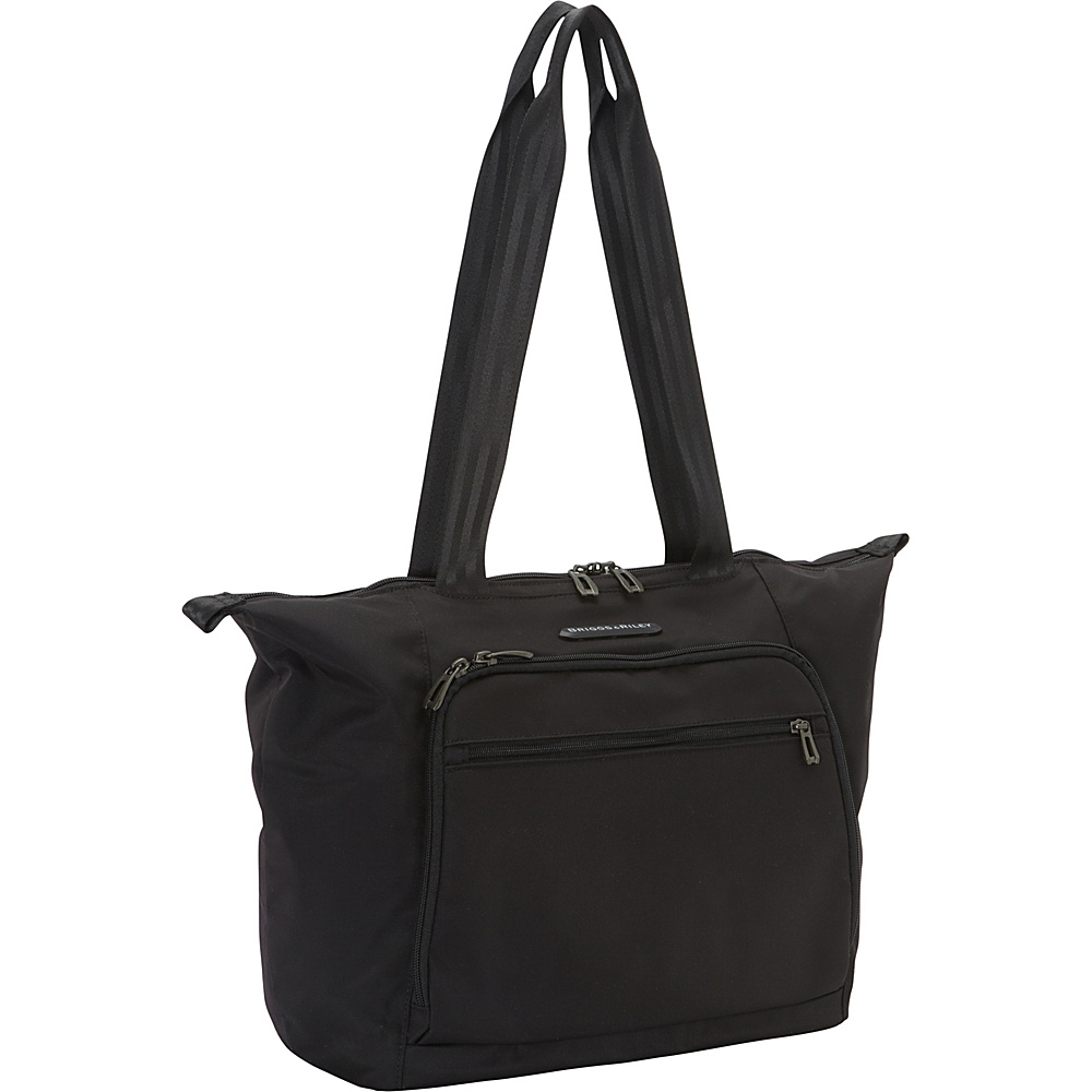 Briggs Riley Transcend 300 Shopping Tote Black Briggs Riley Luggage Totes and Satchels