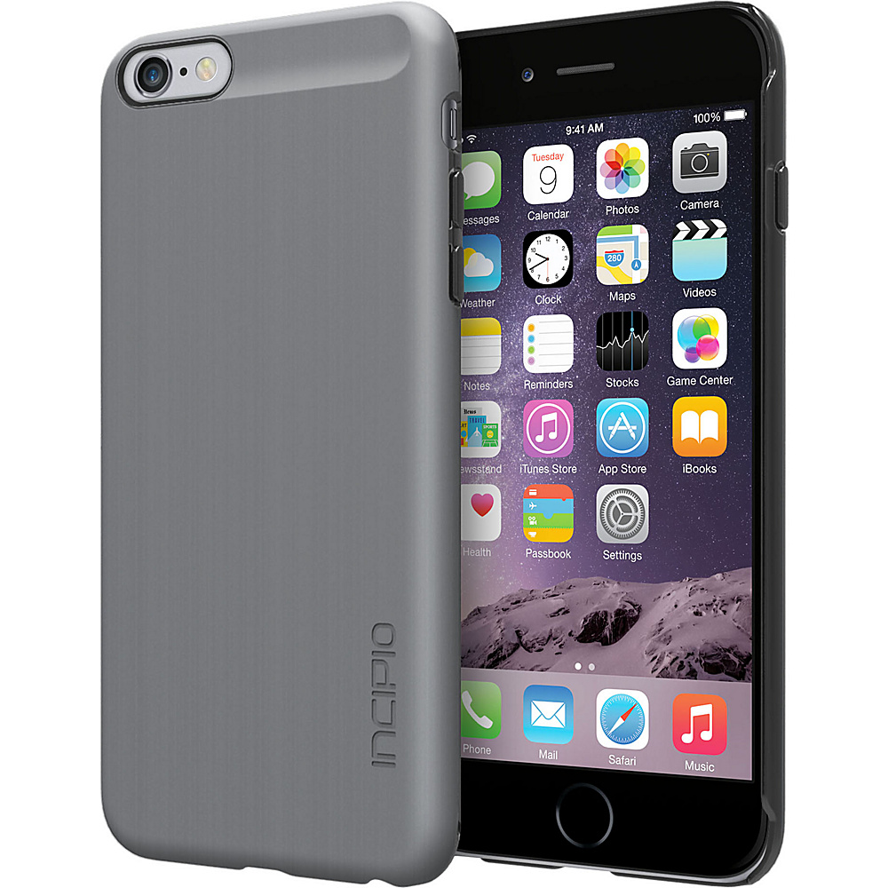 Incipio Feather SHINE iPhone 6 Plus Case Gun Metal Incipio Electronic Cases