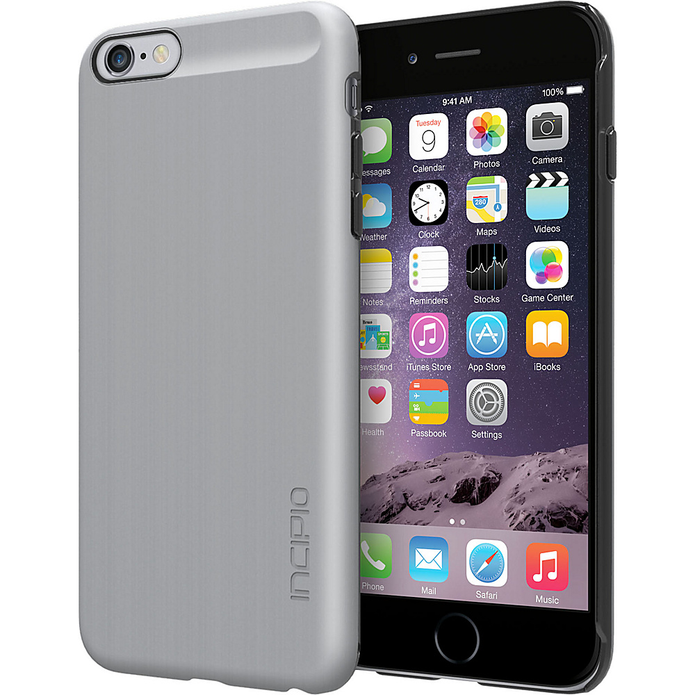 Incipio Feather SHINE iPhone 6 Plus Case Silver Incipio Electronic Cases