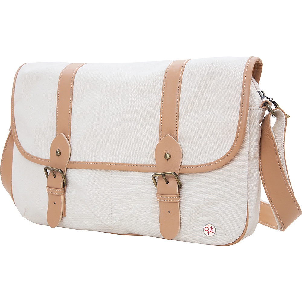TOKEN Ft. Greene Organic Shoulder Bag (L) Beige - TOKEN Other Men's Bags