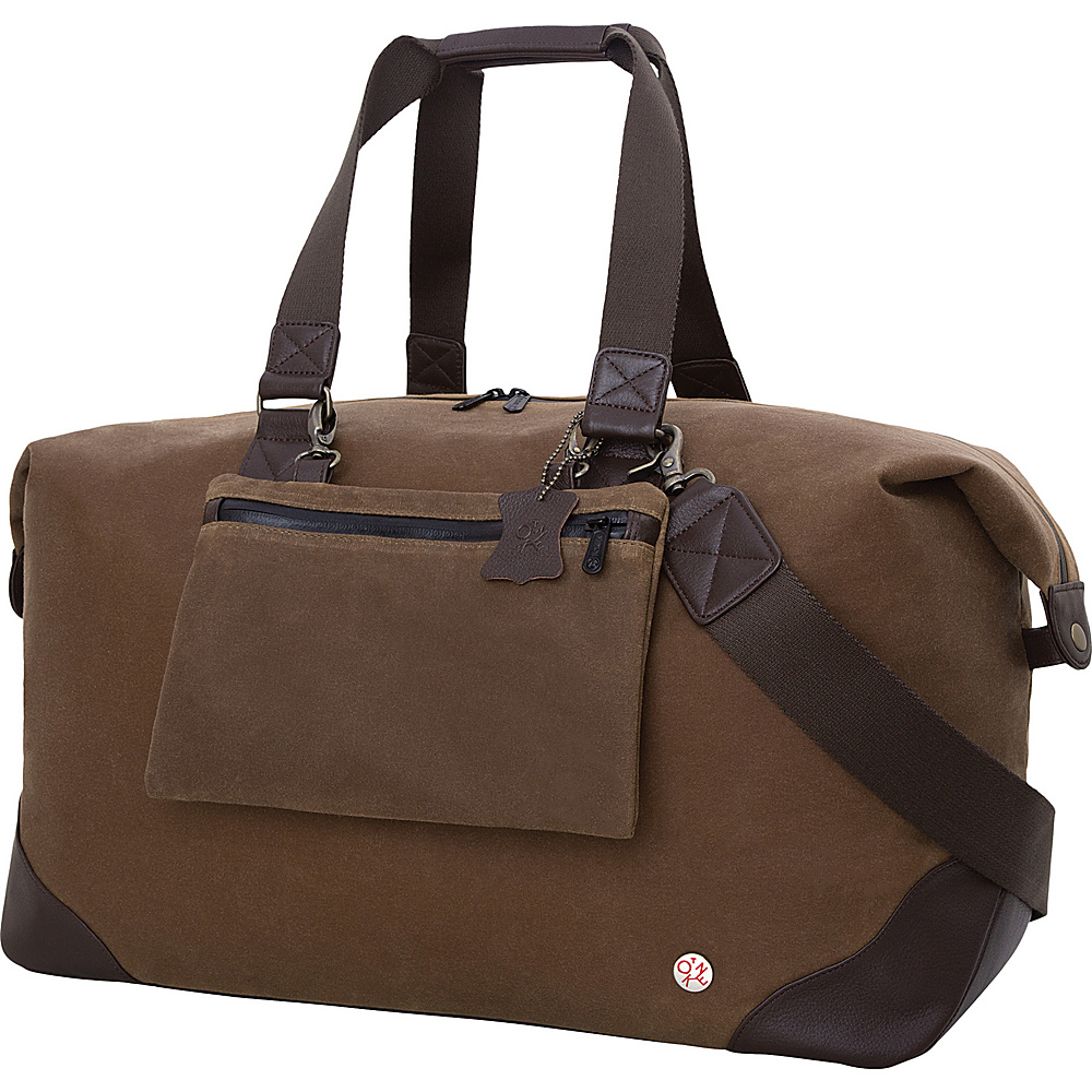 TOKEN Lafayette Waxed Duffel Bag Field Tan TOKEN Travel Duffels