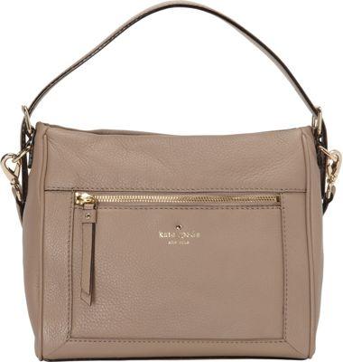 kate spade new york Cobble Hill Small Harris Satchel Warm Putty - kate spade new york Designer Handbags