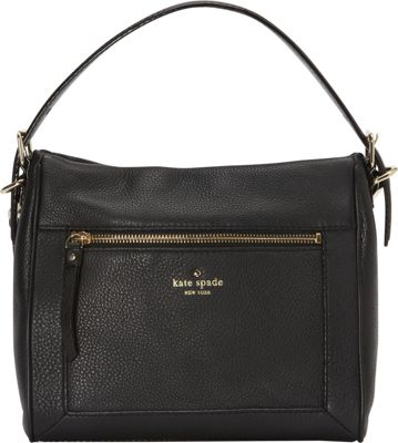 kate spade new york Cobble Hill Small Harris Satchel Black - kate spade new york Designer Handbags