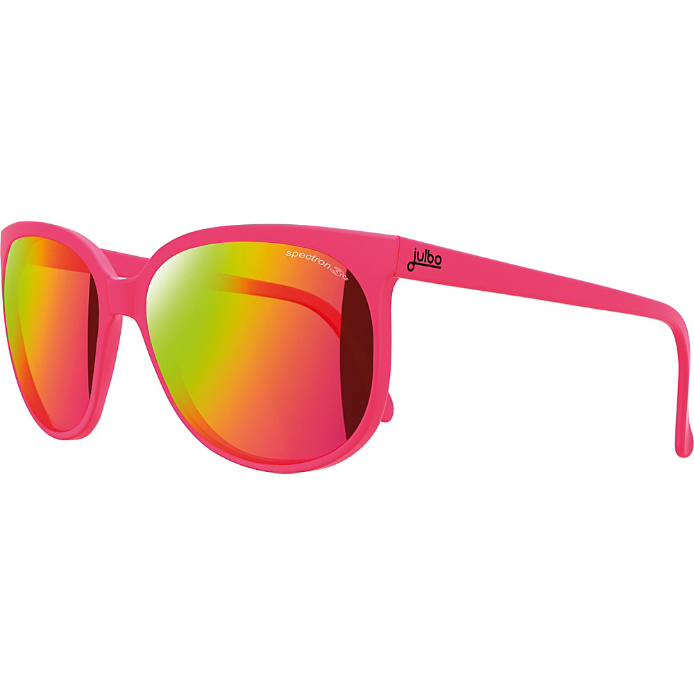 Julbo Megeve Sunglasses with Spectron 3 Multilayer Lenses Pink Julbo Sunglasses