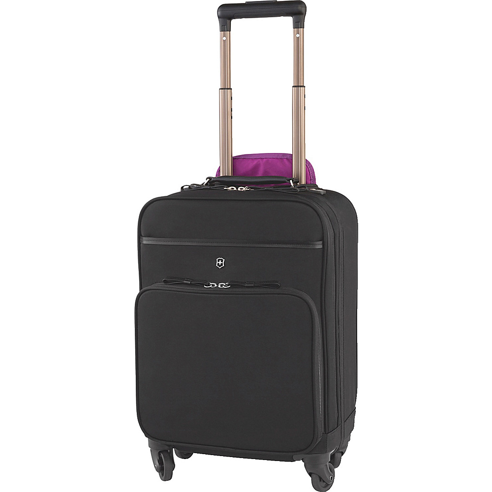 Victorinox Brilliance Rolling Business Case Black Victorinox Wheeled Business Cases
