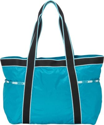 LeSportsac Gym Tote Turquoise Fitness - LeSportsac Gym Bags