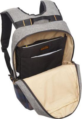 Focused Space The Curriculum Backpack Grey - Focused Space Business & Laptop Backpacks