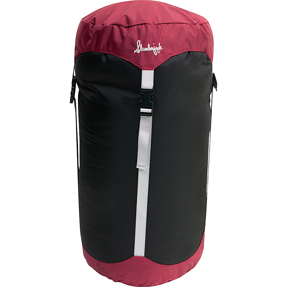Slumberjack Compression Stuff Sack 10 x 20 BURGUNDY Slumberjack Outdoor Accessories
