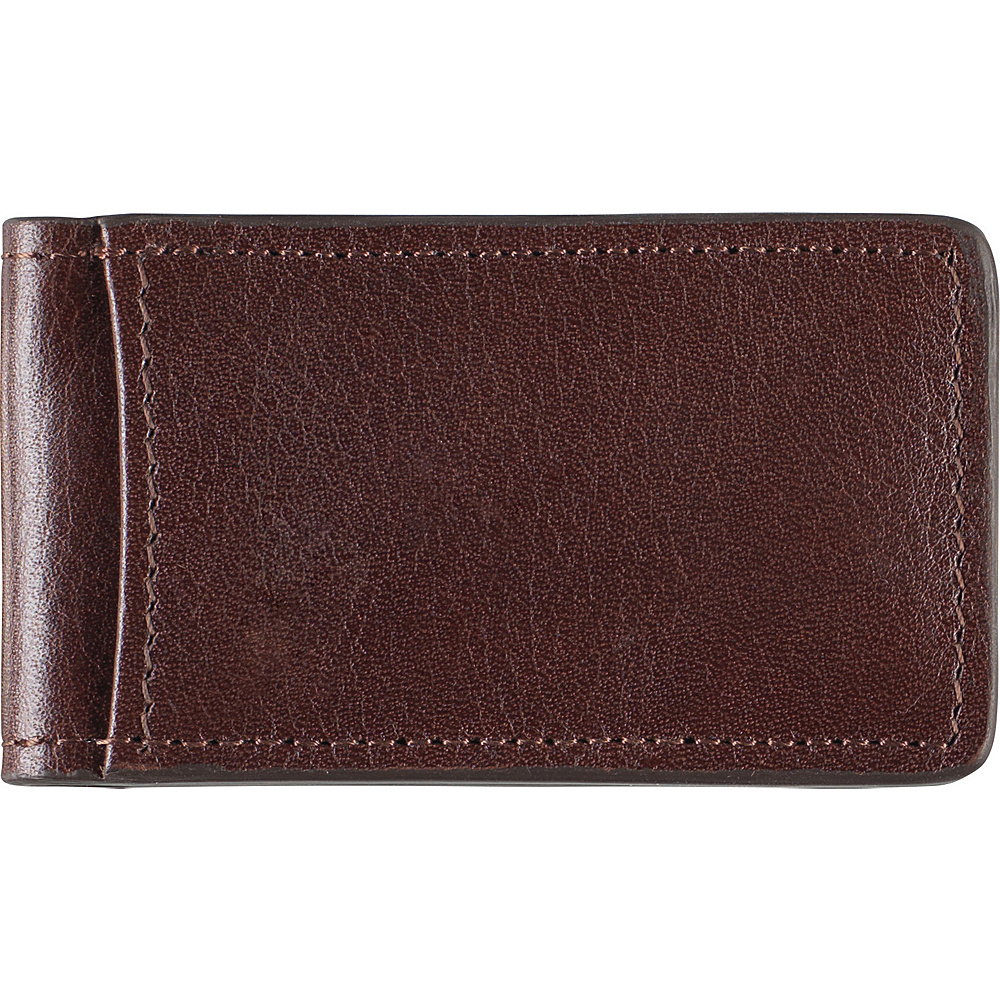 Johnston & Murphy Magnetic Money Clip Dark Brown - Johnston & Murphy Men's Wallets