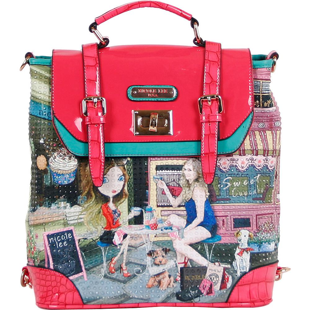 Nicole Lee - Cupcake Girl Print Backpack (Women's)