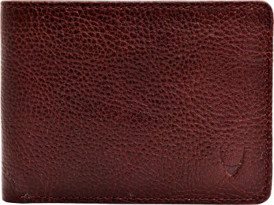 Hidesign Giles Vegetable Tanned Leather Trifold Wallet with Multiple Compartments Brown - Hidesign Men's Wallets