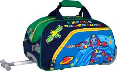 J World New York Robot Kids' Rolling Duffel Robot - J Wor...