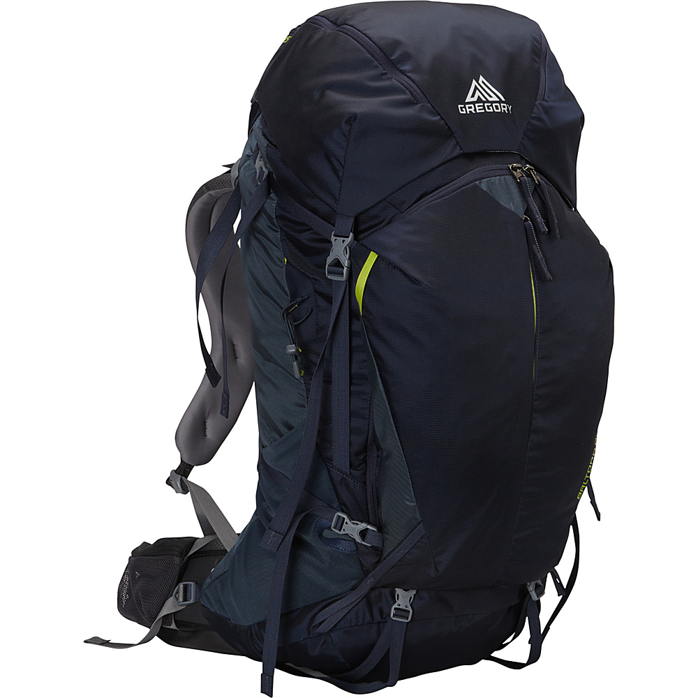 Gregory Men s Baltoro 65 Large Pack Navy Blue Gregory Day Hiking Backpacks