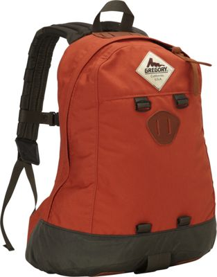 Gregory Kletter Day Backpack Rust - Gregory Everyday Backpacks