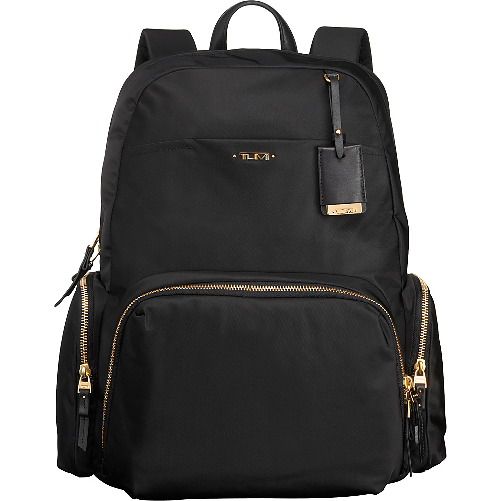 Tumi Voyageur Calais Backpack Black Tumi Business Laptop Backpacks