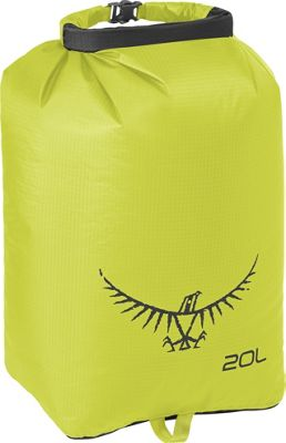 Osprey Ultralight Dry Sack Electric Lime â?? 20L - Osprey Outdoor Accessories