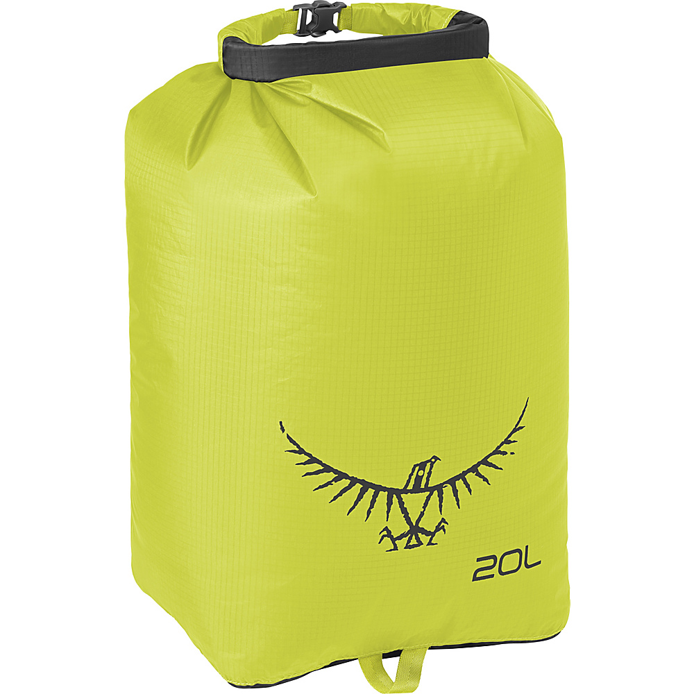 Osprey Ultralight Dry Sack Electric Lime – 20L Osprey Outdoor Accessories