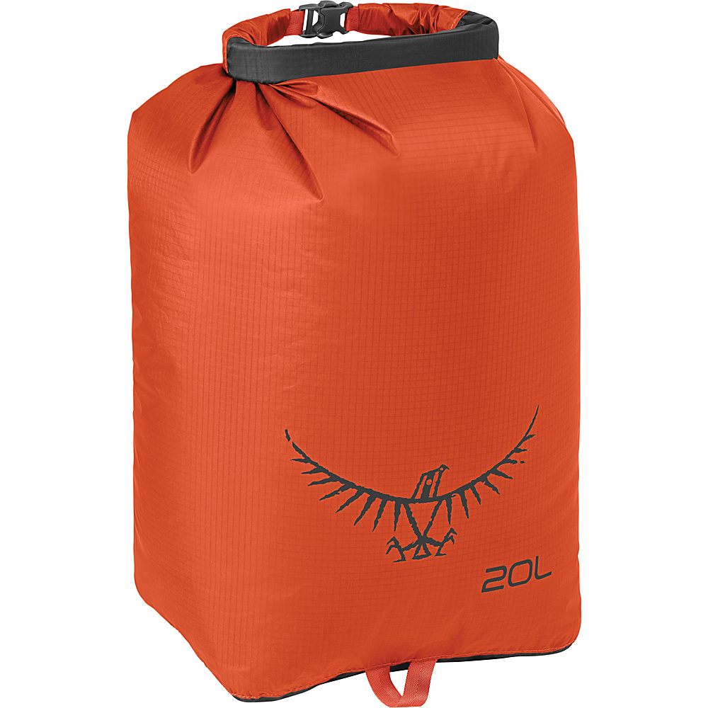 Osprey Ultralight Dry Sack Poppy Orange – 20L - Osprey Outdoor Accessories - Outdoor, Outdoor Accessories