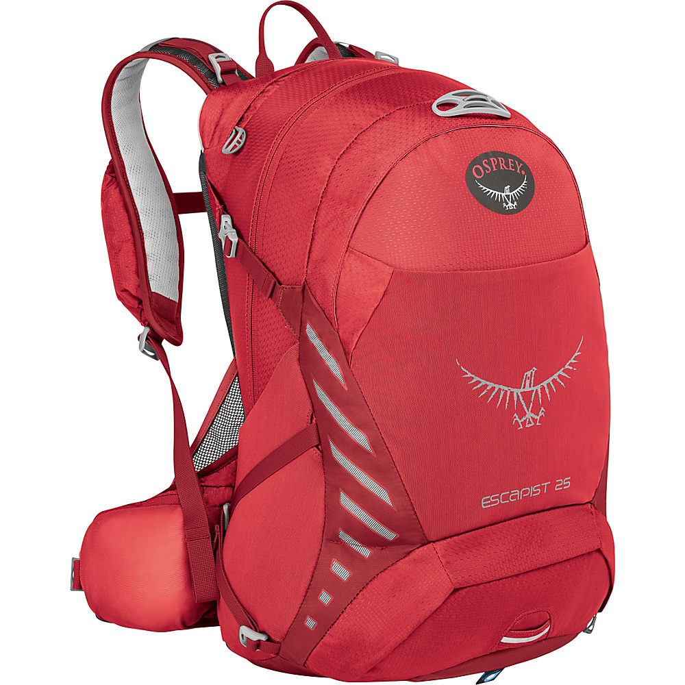 Osprey Escapist 25 Cayenne Red – S/M - Osprey Day Hiking Backpacks - Outdoor, Day Hiking Backpacks