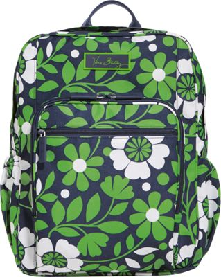 Vera Bradley Lighten Up Medium Backpack Lucky You - Vera Bradley School & Day Hiking Backpacks