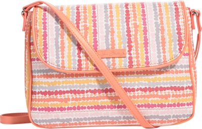 Vera Bradley Flap Crossbody Confetti Stripe - Vera Bradley Fabric Handbags
