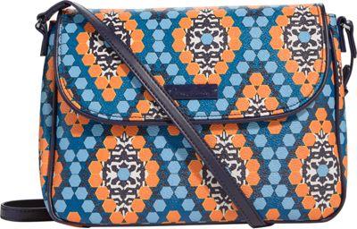 Vera Bradley Flap Crossbody Marrakesh Beads - Vera Bradley Fabric Handbags