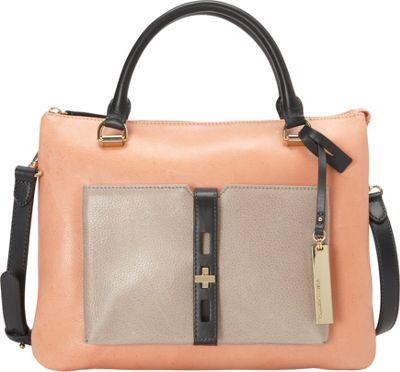 Vince Camuto Darla Satchel Papaya Punch - Vince Camuto Designer Handbags