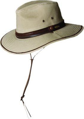 Stetson Rushmore Safari Hat L - Khaki - Stetson Hats/Gloves/Scarves