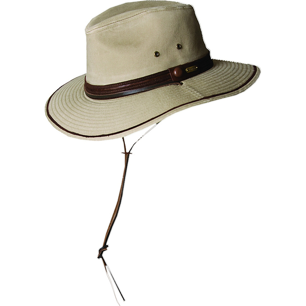 Stetson Rushmore Safari Hat Khaki Large Stetson Hats Gloves Scarves