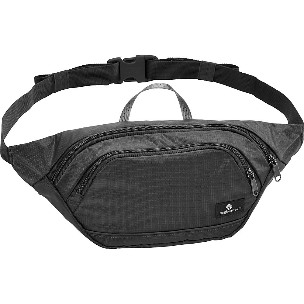 Eagle Creek RFID Tailfeather Medium Black - Eagle Creek Waist Packs - Backpacks, Waist Packs