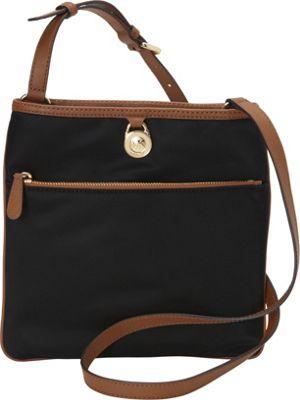 MICHAEL Michael Kors Kempton Large Pocket Crossbody Black - MICHAEL Michael Kors Designer Handbags