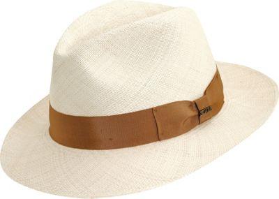 Scala Hats Panama Safari Hat M - Natural - Scala Hats Hat...