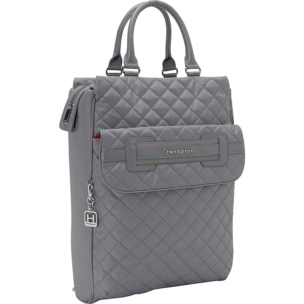 Hedgren Kayla Convertible Laptop Backpack Mouse Grey Hedgren Business Laptop Backpacks