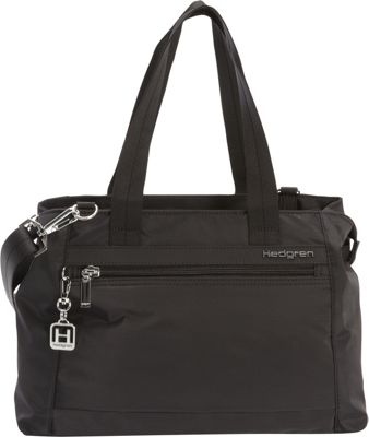 Hedgren Eva Handbag Black - Hedgren Fabric Handbags