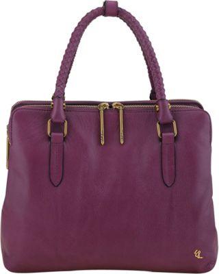Elliott Lucca Genevieve Small Portfolio Tote Orchid - Elliott Lucca Designer Handbags