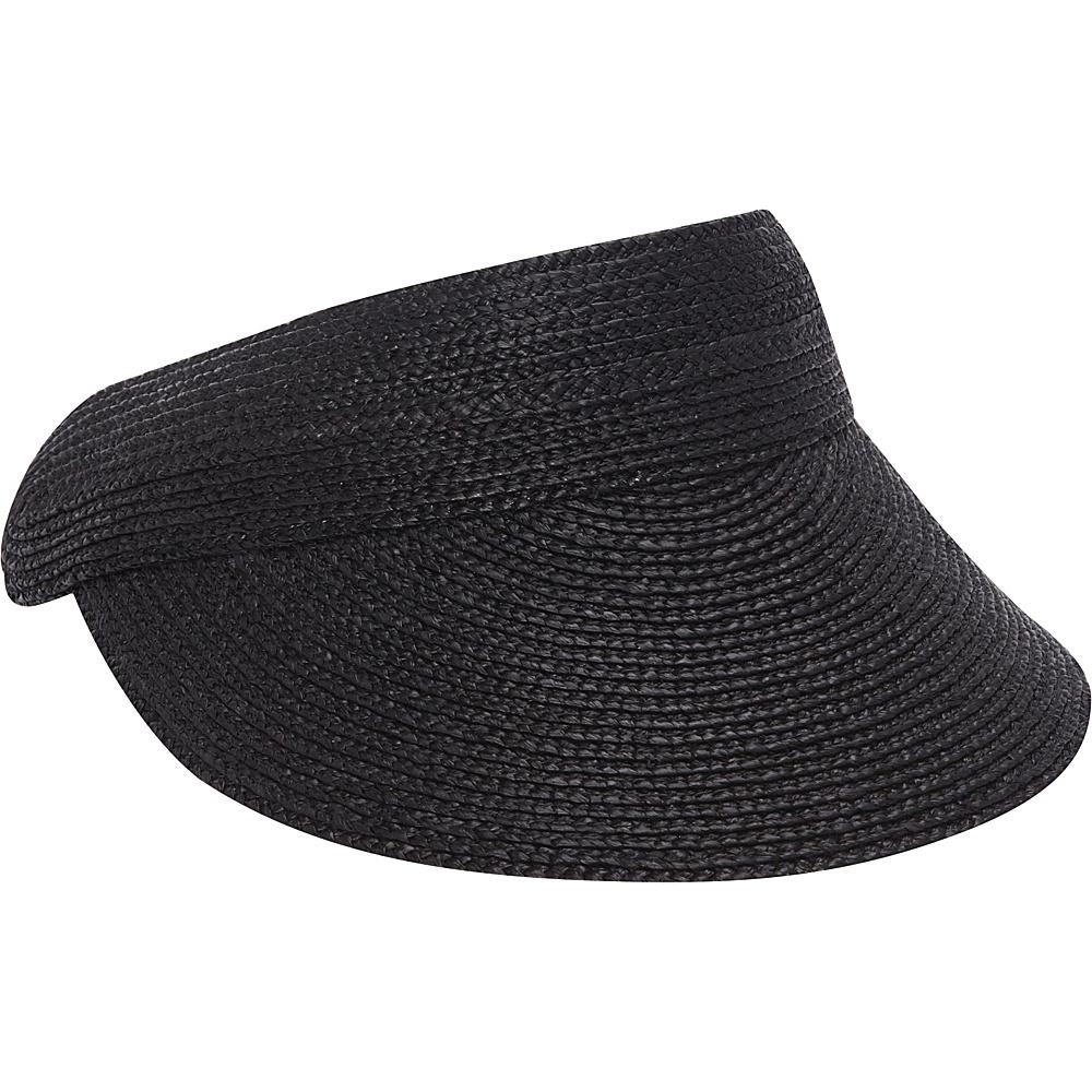 Helen Kaminski Losefa Visor Charcoal Helen Kaminski Hats Gloves Scarves