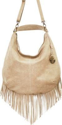 Lucky Brand Bailey Hobo Oyster - Lucky Brand Leather Handbags
