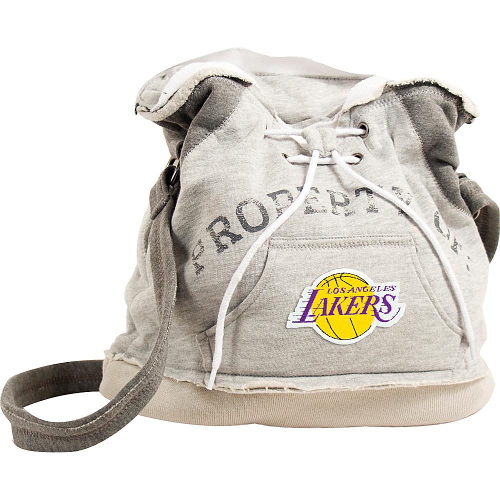Littlearth Hoodie Shoulder Bag - NBA Teams Los Angeles Lakers - Littlearth Fabric Handbags